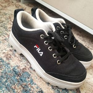 FILA platform sneakers